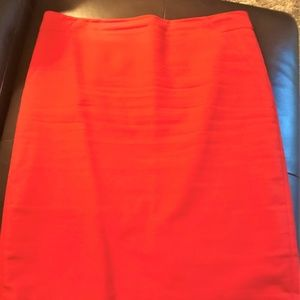 The Limited Summer Red Skirt